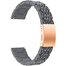 Darringls_Correa para reloj para Samsung Galaxy Watch, Ligero Ventilar Pulsera de Reemplazo 42mm