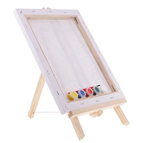 Homyl Hochwertige mini Holz Display Staffelei Sitzstaffelei Tischestaffelei Für Malerei oder Foto