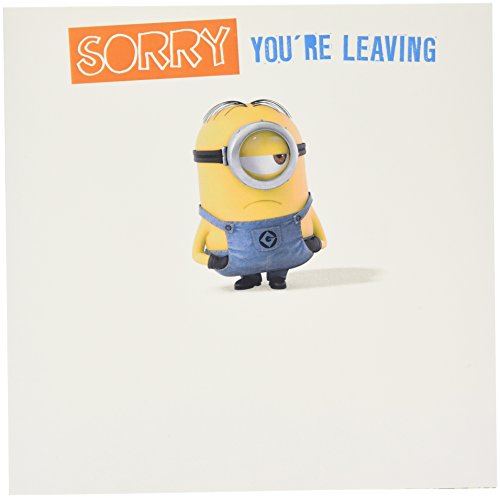 (Despicable Me Minion Sorry You 're Leaving groß Karte)