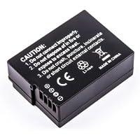 Batterie compatible pour Panasonic Lumix DMC-FZ200, DMC-FZ200GK, DMC-FZ200K, DMC-GH2, DMC-GH2GK, DMC-GH2H, DMC-GH2HGK, DMC-GH2HK, DMC-GH2HS, DMC-GH2K, DMC-GH2KGK, DMC-GH2KK, DMC-GH2KS, DMC-GH2S
