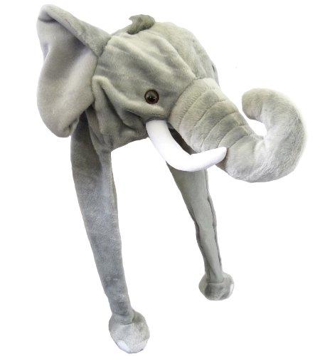 Plüsch Mütze Elefant (Elefanten Kostüme Erwachsene)