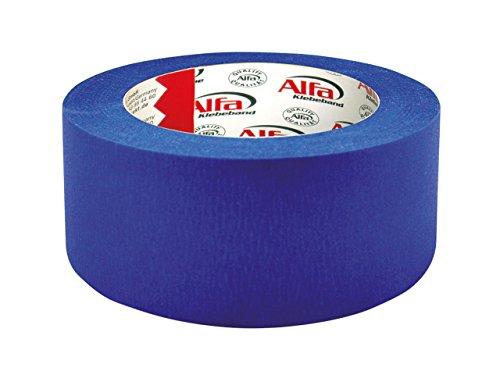 1x Blue Tape in blau 50 mm x 50 m, blaues Klebeband, Kreppband für den 3D Druck