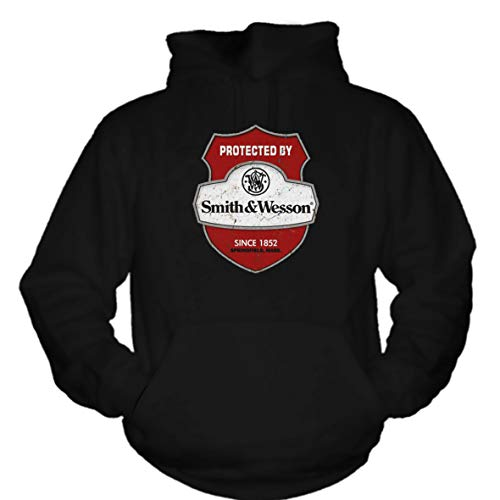 shirtmachine Smith&Wesson Logo Hoodie -Black- (M) (Smith Wesson)