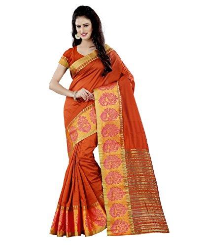 Being Banarasi Party Wear Jacquared Silk Cotton Saree(1133_D)