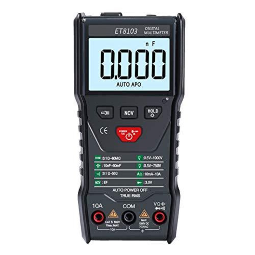 PRENKIN Digital NCV Senza Contatto rilevatore di Tensione di Corrente Tester multimetro LCD retroilluminazione del Display Spegnimento Automatico