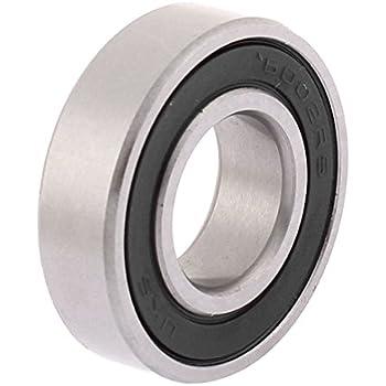Sourcingmap 6002rs Deep Groove Roulement /à billes double scell/é 6002 lot de 2 2RS 180102 15/mm x 32/mm x 9/mm en acier au carbone Roulements