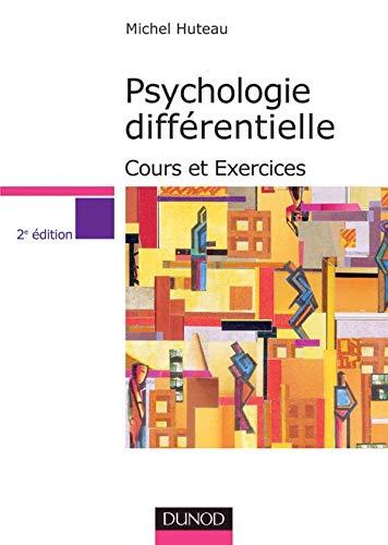 Psychologie différentielle : Cours et exercices PDF Books