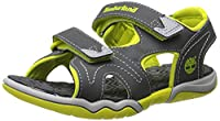 Timberland Adventure Seeker 2, Boys' Sandals, Gray (Dark Grey With Green), 7 Child UK (24 EU)