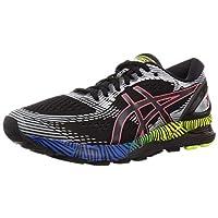 ASICS Gel-Nimbus 21 LS, Men's Road Running Shoes, Multicolour (Black/Electric Blue), 42.5 EU