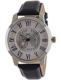 Killer Analogue Silver Dial Men's Watch - KLM5017-4
