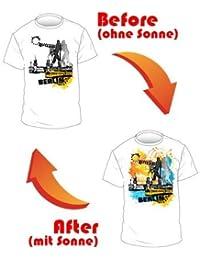 T-Shirt Shirt Mann Berlin Hauptstadt Germany Deutschland Molecule Man Souvenir S 46