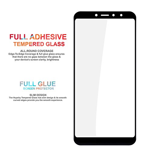 Chevron Redmi Y2 Full Coverage 3D Tempered Glass Screen Protector - Sapphire Black