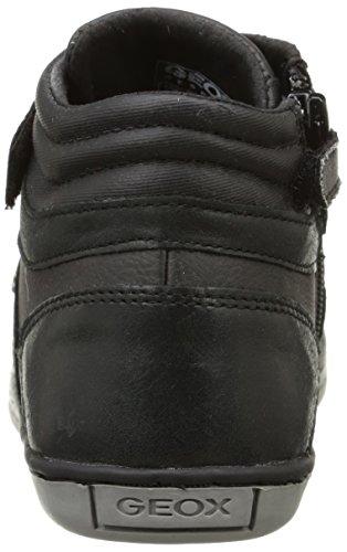 Geox - Jr Garcia Boy B, Sneaker Bambino Nero (Schwarz (C9999BLACK))