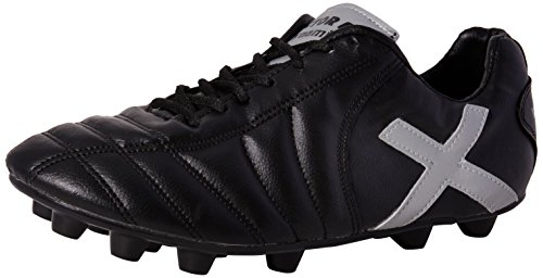 Vector X Dynamic 001 Football Shoes, Men's (Black/Silver)