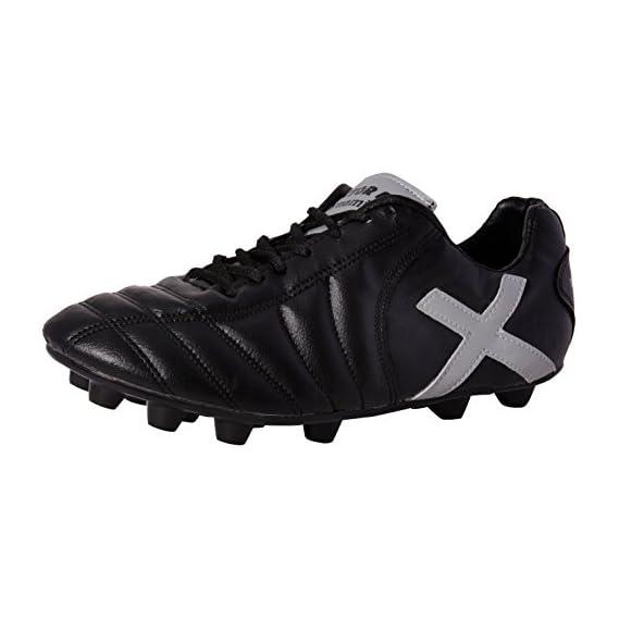 Vector X Dynamic 001 Football Shoes, Men's (Black/Silver)