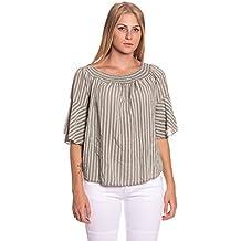 Abbino IG001 Blusen Damen Frauen Mädchen - Made in Italy - Viele Farben -  Feminin Freizeit 4661883d51