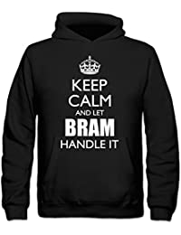 Sudadera con capucha niño Keep Calm And Let BRAM Handle It by Shirtcity