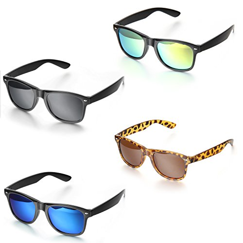 Aroncent polarisierte Sonnenbrille für Herren und Damen, UV400 Schutz unzerbrechliche Sport Sonnenbrille für Radfahren, Cycling, Angeln, Running Outdoor Sport
