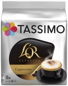 Capsulas Tassimo L'OR Espresso Capuchino 8 Bebidas NOVEDAD