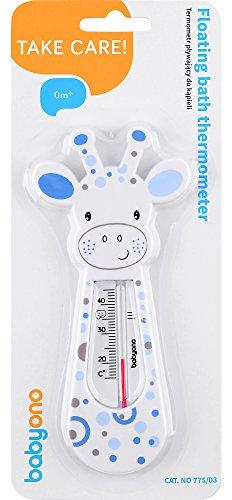 Babyono Children's Bath Thermometer BO0008(White/Blue)