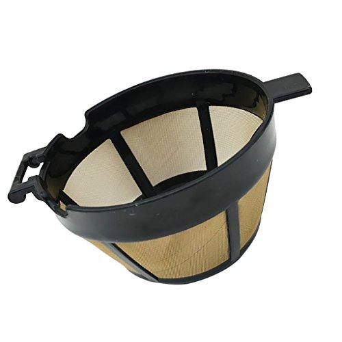 Fenteer Kaffeefilter/Kaffeesieb aus Stoff | Permanentfilter Ohne Papier als Handfilter für Kaffeepulver | Dauerfilter BZW. Kaffeefilteraufsatz Perfekt für Kannen und Tassen | - #4, 81mm (4 Korb Filter Tasse Kaffee)