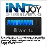 infactory Flaschenhalter und Dosierer, 4-fach, für Wandmontage - 3