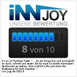 infactory Flaschenhalter und Dosierer 4-fach, für Wandmontage - 3