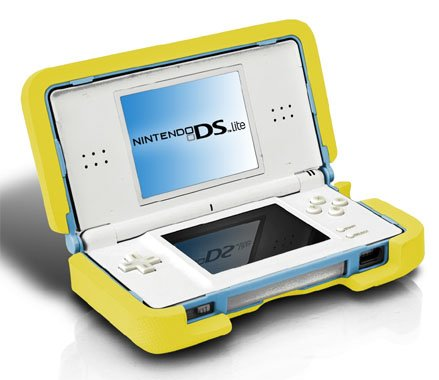Nintendo DS lite - Nerf Lite Armor - Yellow [UK Import]