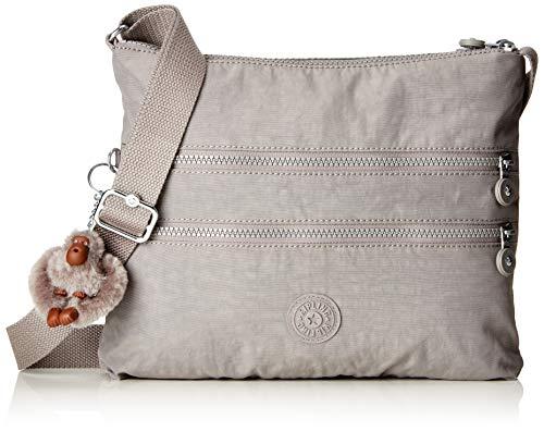 Kipling Alvar, Women's Cross-Body Bag, Grey (Urban Grey), 4.5x33x26 cm (B x H T)