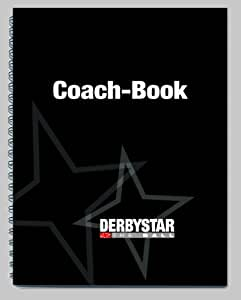 Derbystar Coach book Carnet entraîneur football Noir DIN A5