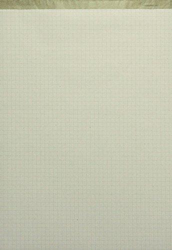 LANDRÉ Notizblock ohne Deckblatt DIN A4 50 Blatt kariert 60 g//qm