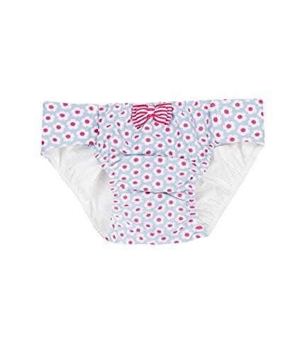 Steiff Collection Mädchen Badeshorts Schwimmwindel 6837530, Mehrfarbig (Allover 0003), 104 (Strand-badehose Für Mädchen)