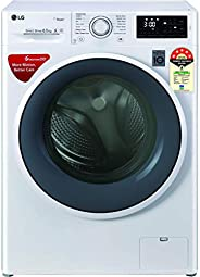 LG 6.5 Kg 5 Star Inverter Fully-Automatic Front Loading Washing Machine (FHT1265ZNW, White, 6 Motion Direct Dr