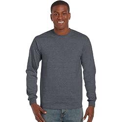 Gildan Ultra T-Shirt mit Rundausschnitt für Männer (S) (Dunkles Heidekraut) S,Dunkles Heidekraut