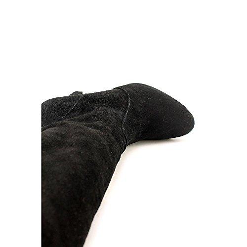 INC International Concepts Sheran Daim Botte Noir - noir