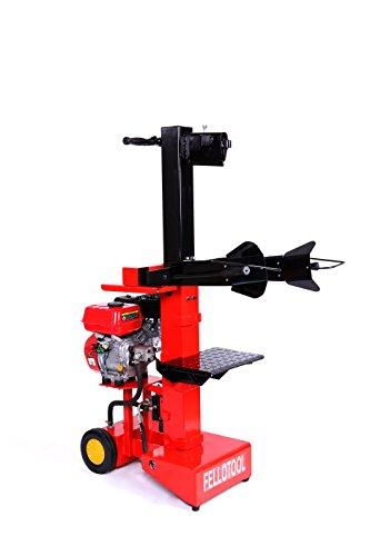 Fellotool Benzin Hydraulikspalter holzspalter Brennholzspalter 10 tonnen Spaltkraft