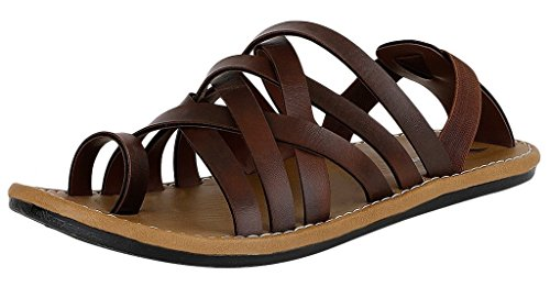 Stylos 304 Men's Slippers (Brown)