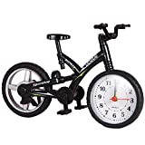Taslar Mini Motorcycle/Bicycle Model Alarm Clock Desk & Shelf Modern Home Office Decoration