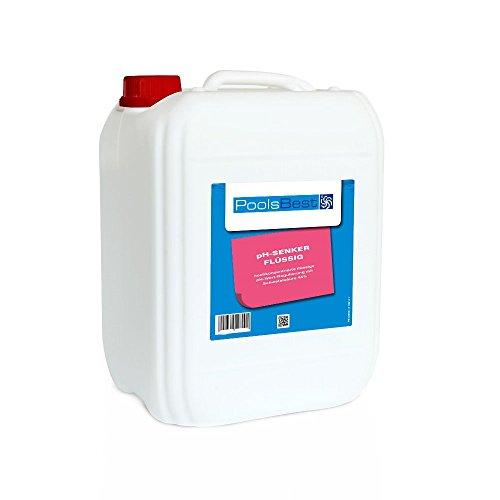 12 Kg - PoolsBest® pH-Senker flüssig 45%ig