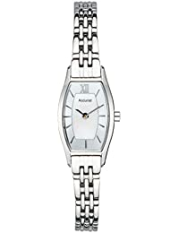 Accurist Women's Quartz Watch with Silver Dial Analogue Display and Silver Stainless Steel Bracelet Lb1282Px