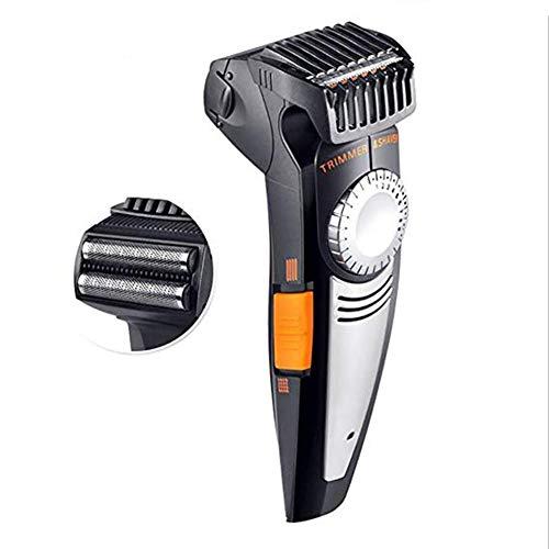 GODLOVEWORLD Wiederaufladbare Elektrorasierer Bart Rasierer Elektrorasierer Männer Rasur Maschine Trimmer Gesichtspflege