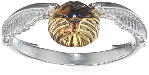 Harry Potter Goldener Schnatz Ring Standard M