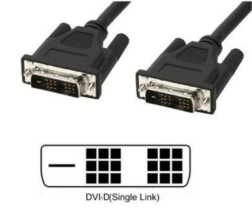 Cavo Monitor DVI digitale M/M Single Link 1,8 mt (DVI-D)