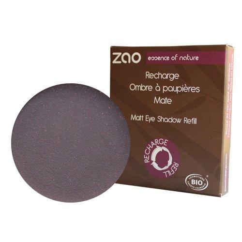 ZAO REFILL Matt Eyeshadow 205 dunkel-lila Lidschatten-Nachfüller matt mit Glimmer (bio, Ecocert, Cosmebio, Naturkosmetik)