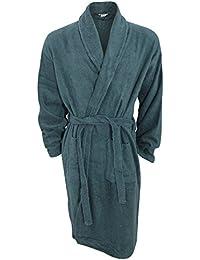 6176360056 Universal Textiles Mens Plain Cotton Towelling Robe Dressing Gown