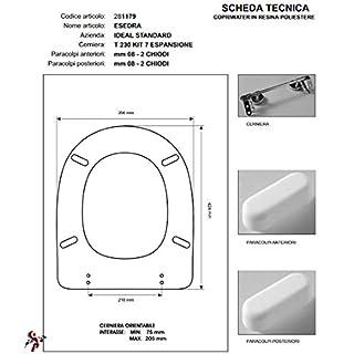 Toilet Seat for Model Esedra Ideal Standard