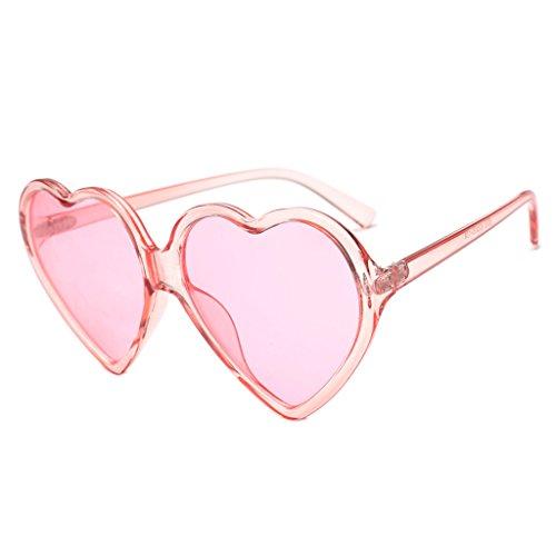 Siswong occhiali da sole a forma di cuore unisex polarizzati vintage occhiali da riflettenti protezione moda occhiali da sole uv integrati da uomo donna retro eyewear protezione dalle radiazioni