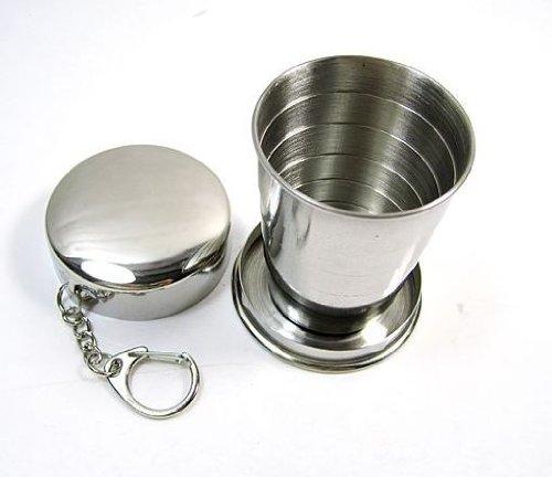 STONCEL Edelstahl Travel Folding Glass / Cup (Fragen Sie nie wieder nach einem Glas / Tasse)
