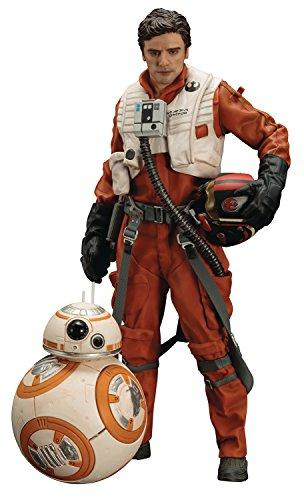 Close Up Star Wars Episode 7 Statue Poe Dameron & BB-8 ARTFX+