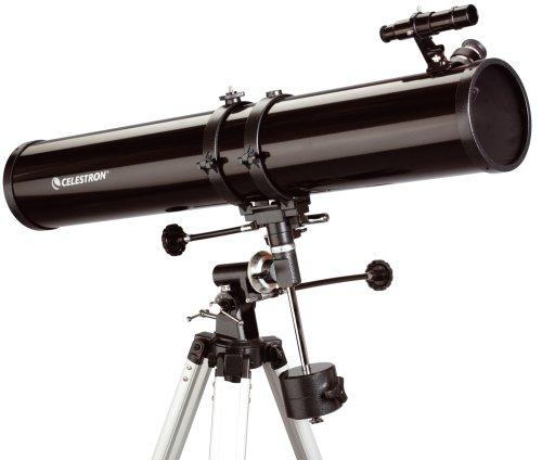 Celestron PowerSeeker 114 EQ - Telescopio zoom 45x